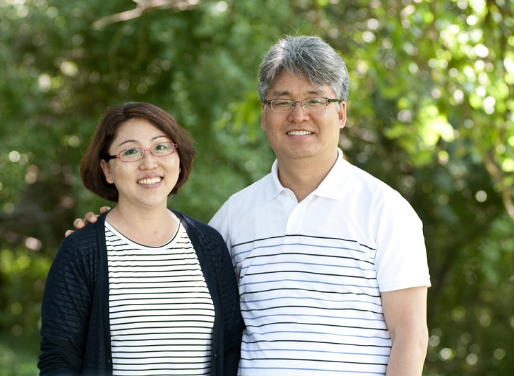 Bock Ki Kim and Sook-Kyoung Park are serving in a ministry assignment in Korea with Mennonite Church Canada Witness. (MC Canada photo)