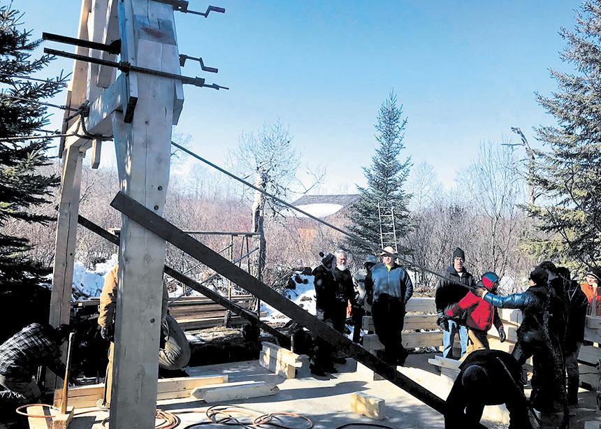 Shekinah Cabin Built Off The Grid Canadian Mennonite