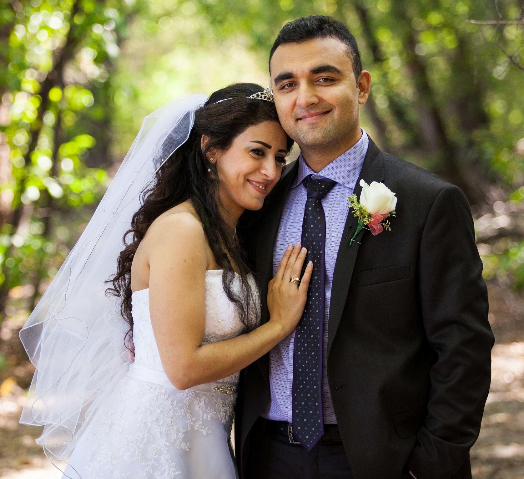 Winnipeg churches throw wedding party for Syrian refugee ...