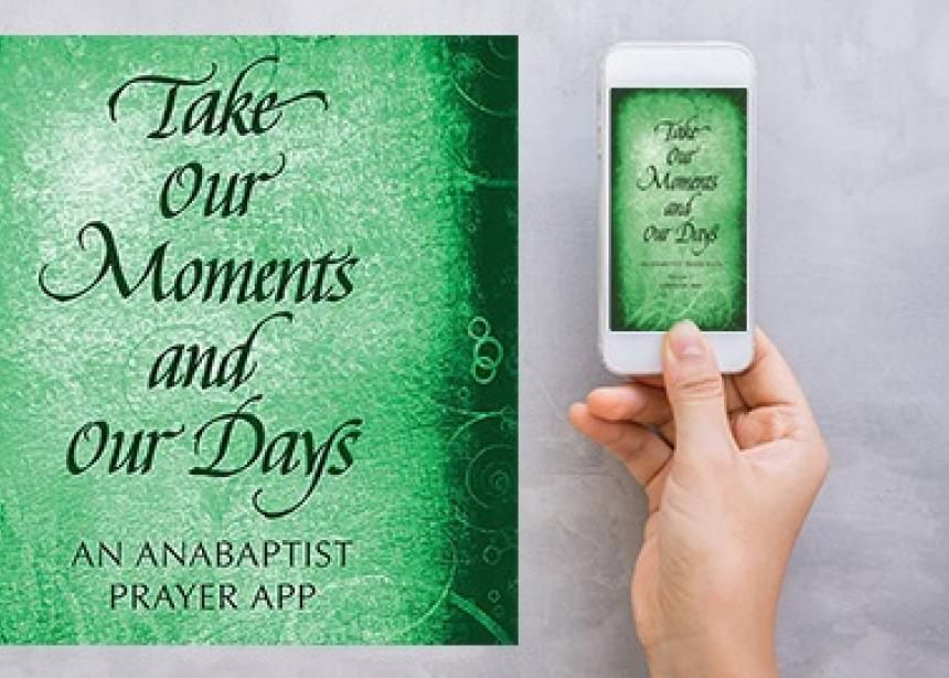 Mobile app extends reach of Anabaptist prayer book
