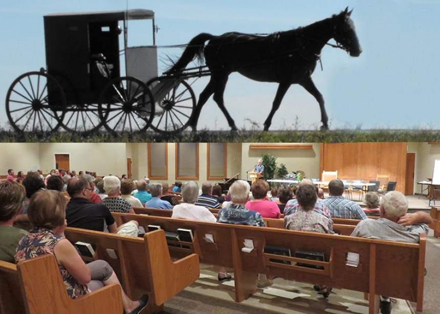 73cb82d4284 There are several varieties of Mennonite and Amish groups in Canada.  (Photos by Barb Draper). You may have ...