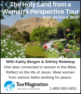TourMagination Holy Land tour for women
