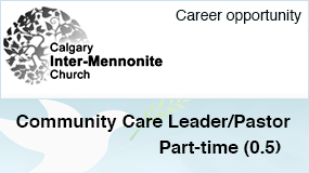 Calgary Inter-Mennonite Church employment ad