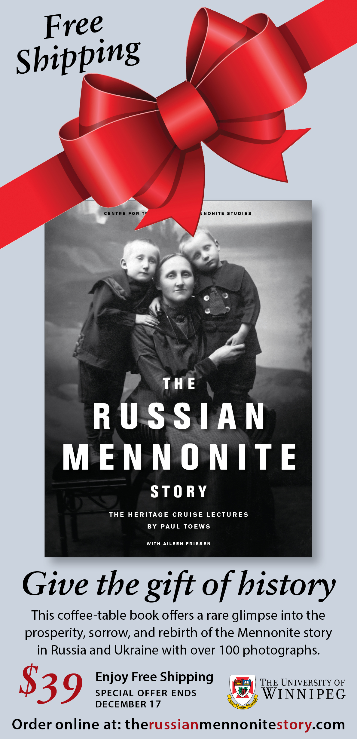 Rusian Mennonite coffee table book