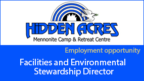 Hidden Acres employment ad