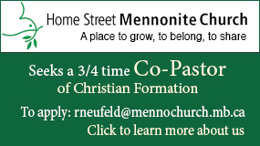 Home Street Mennonite Church employment ad
