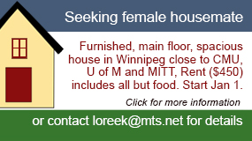 Housemate ad