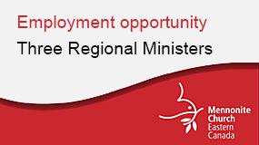 MCEC regional pastor employment ad