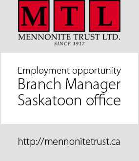 Mennonite Trust employment ad