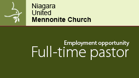 Lead pastor employment ad for Niagara UMC