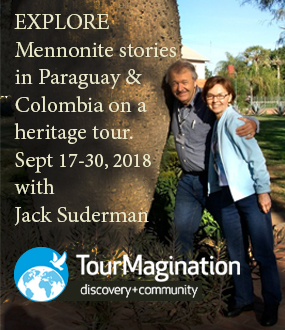 TourMagination ad for tour to Paraguay and Colombia