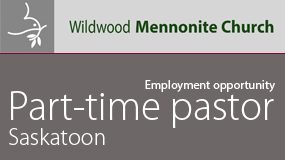 Wildwood Mennonite Church emoployment ad online