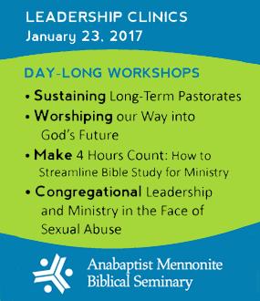 Leadership clinic at AMBS