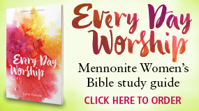 Every Day Worship MennoMedia book ad