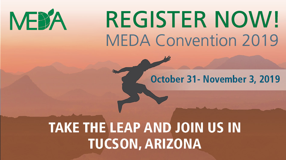 MEDA online convention ad